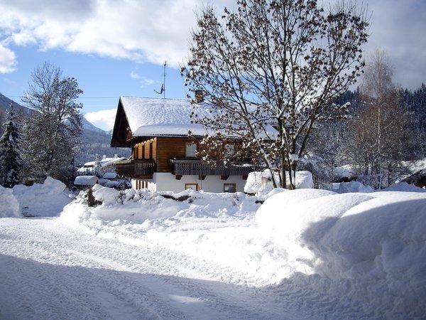 Winter Präsentationsbild Stöfflerhof - Ferienwohnungen auf dem Bauernhof 3 Blumen