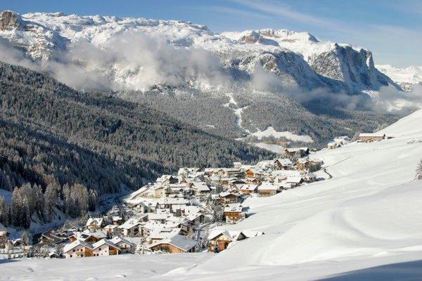 Foto invernale di presentazione San Cassiano - Associazione turistica