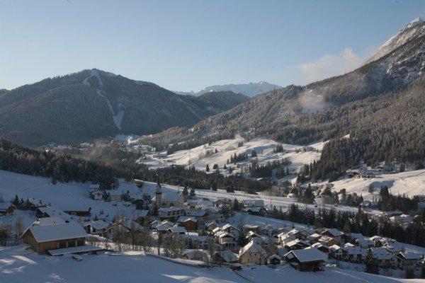 Foto invernale di presentazione Ufficio turistico Badia