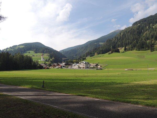 Lage Ferienwohnungen auf dem Bauernhof Huterhof Winnebach