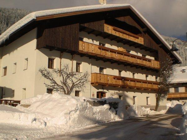Winter Präsentationsbild Ferienwohnungen auf dem Bauernhof Huterhof