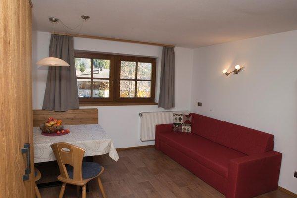 La zona giorno Appartamenti Kinigerhof