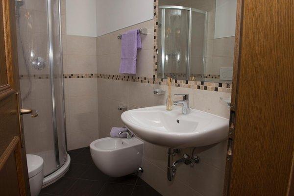 Foto del bagno Appartamenti Kinigerhof