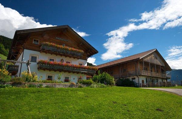 Foto estiva di presentazione Appartamenti in agriturismo Marerhof