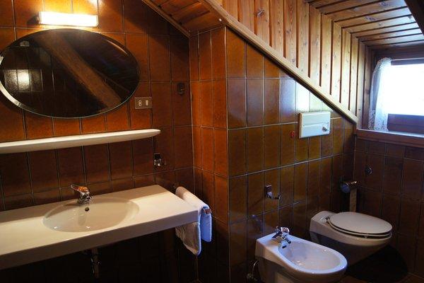 Foto del bagno Appartamenti in agriturismo Taschler Johann