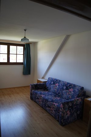 La zona giorno Taschler Johann - Appartamenti in agriturismo 2 fiori