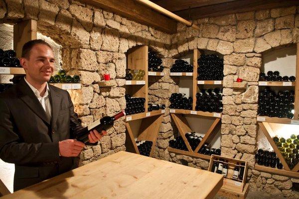 Wine cellar Dobbiaco / Toblach Park Hotel  Bellevue