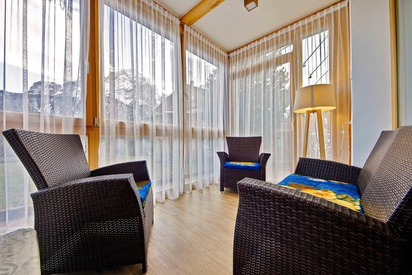 The living area Apartments Chalet Ciuf dl Ton