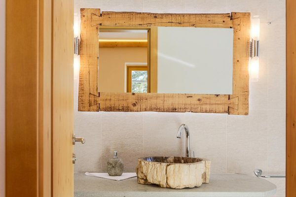 Foto del bagno Hotel Rosengarten