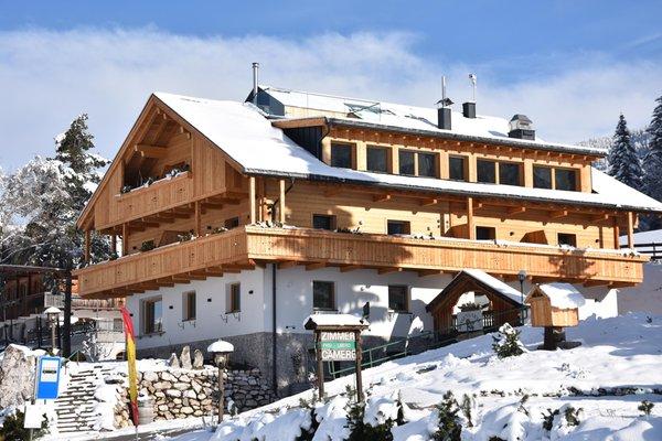 Foto invernale di presentazione Hotel Rosengarten