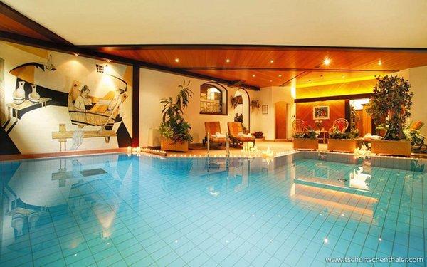 La piscina Tschurtschenthaler - Hotel 3 stelle