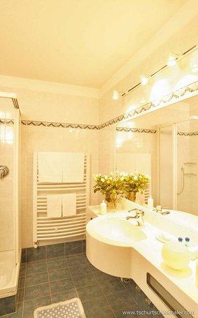 Foto del bagno Hotel Tschurtschenthaler