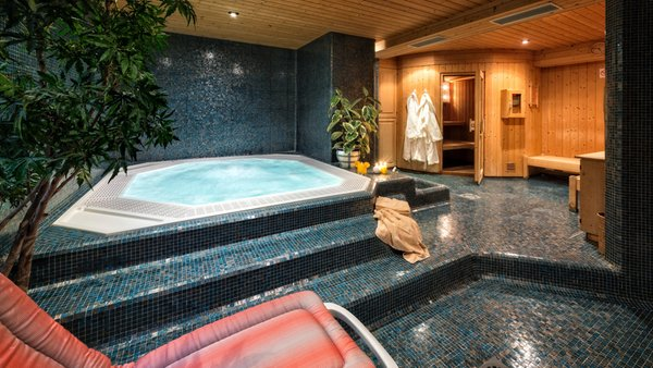 Photo of the wellness area Hotel Moritz