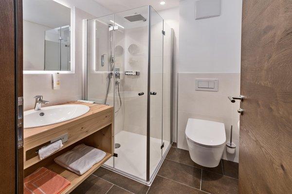 Foto del bagno Hotel Moritz