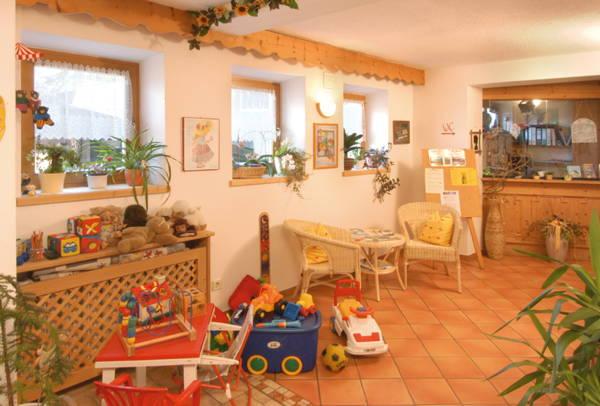 Le parti comuni Pensione + Appartamenti Jörgerhof Gasthof