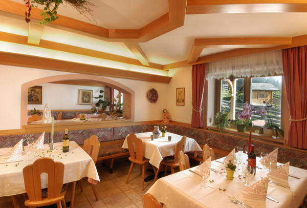 Il ristorante Monte Rota (Dobbiaco) Jörgerhof Gasthof