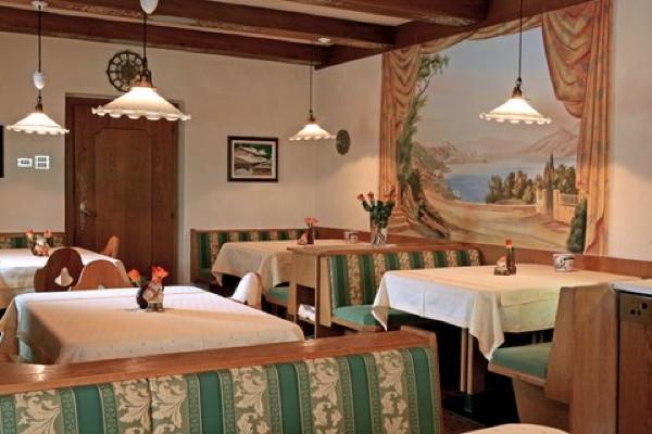 Il ristorante Dobbiaco Villa Bachmann