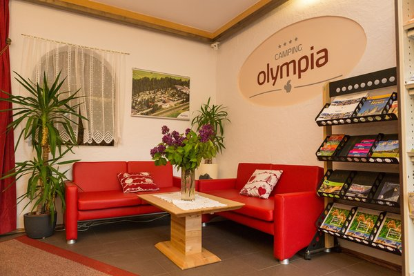 The common areas Apartments in hotel Olympia