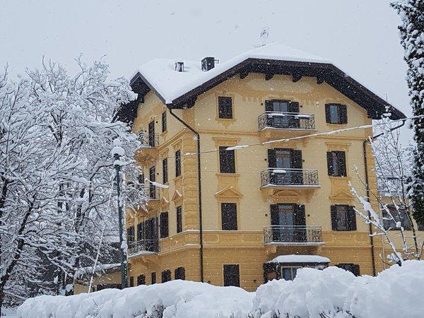 Winter presentation photo Holiday house Europa