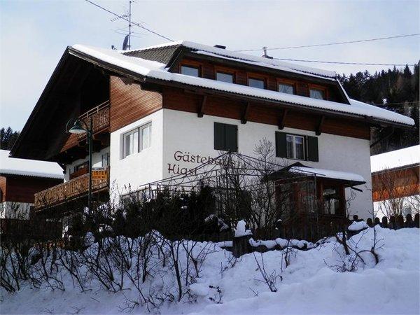 Foto invernale di presentazione Hiasl - Camere private con prima colazione 2 soli