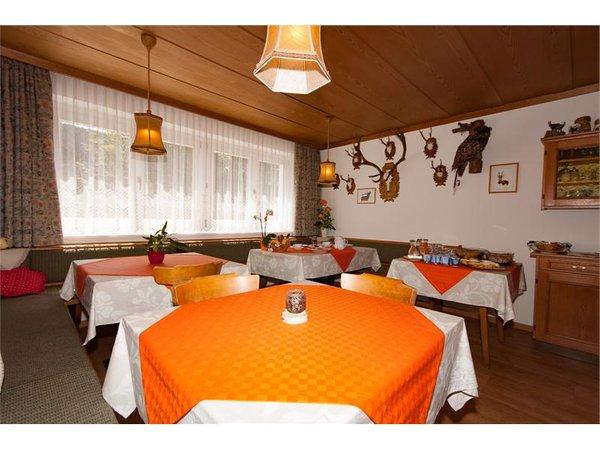 Die Gemeinschaftsräume Gästezimmer mit Frühstück Hiasl