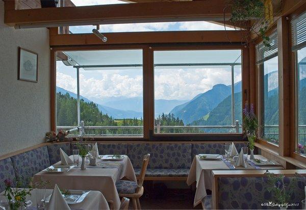 Il ristorante Acereto (Valle di Tures) Roanerhof