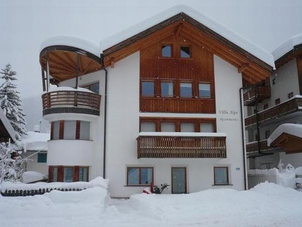 Winter Präsentationsbild Ferienwohnung Villa Alpi