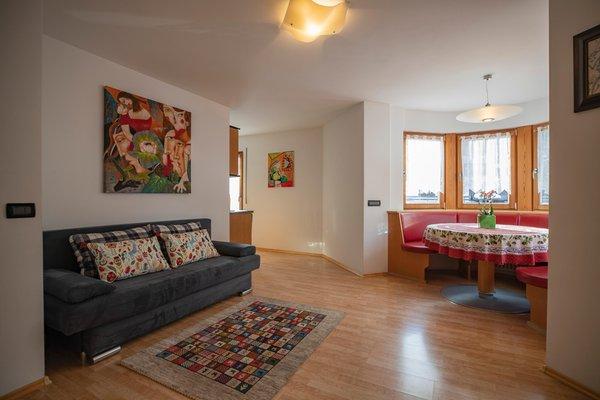 Der Wohnraum Ferienwohnung Villa Alpi