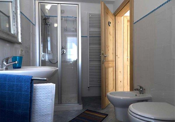 Foto del bagno Appartamento Blu