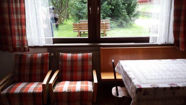 La zona giorno Monteggia - Fronthaler - Appartamenti 3 soli