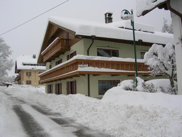 Winter Präsentationsbild Trenker Franz - Ferienwohnungen 2 Sonnen
