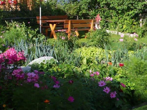 Foto vom Garten Toblach