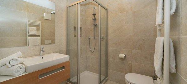 Foto del bagno Appartamenti Villa Rienzner