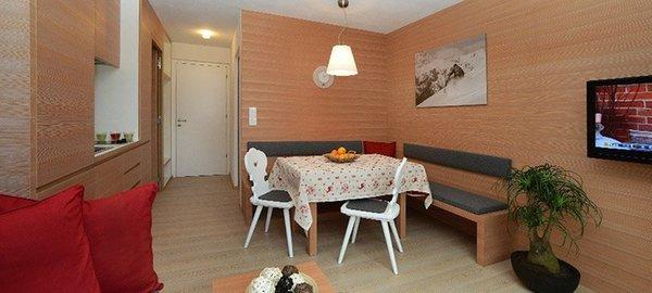 La zona giorno Villa Rienzner - Appartamenti 3 soli