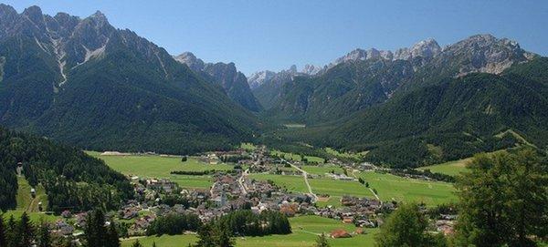 La posizione Appartamenti Villa Rienzner Dobbiaco