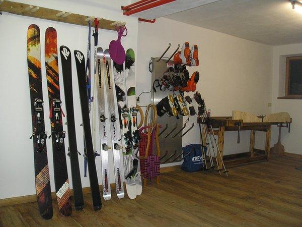 La skiroom Appartamenti in agriturismo Baumannhof