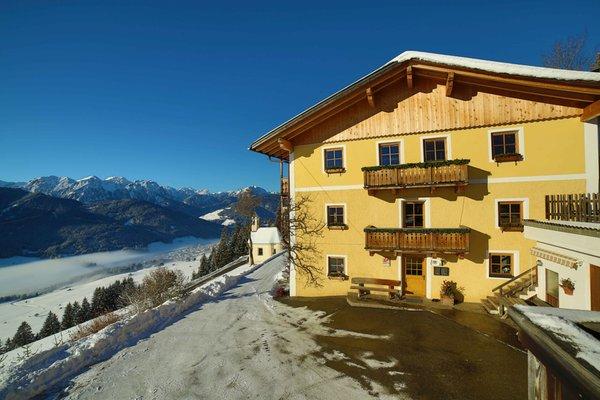Foto invernale di presentazione Hansenhof - Appartamenti in agriturismo 3 fiori