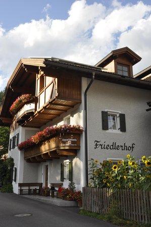 Foto esterno in estate Friedlerhof