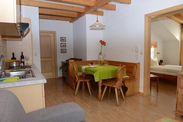 The living area Farmhouse apartments Kaflhof