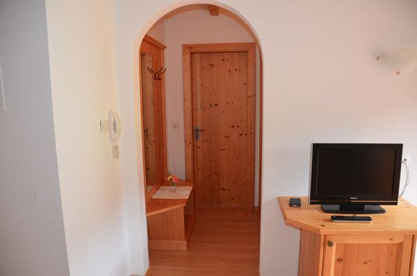 La zona giorno Appartamenti in agriturismo Klaudehof