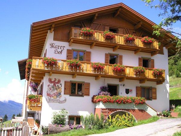Foto estiva di presentazione Marerhof - Appartamenti in agriturismo 2 fiori