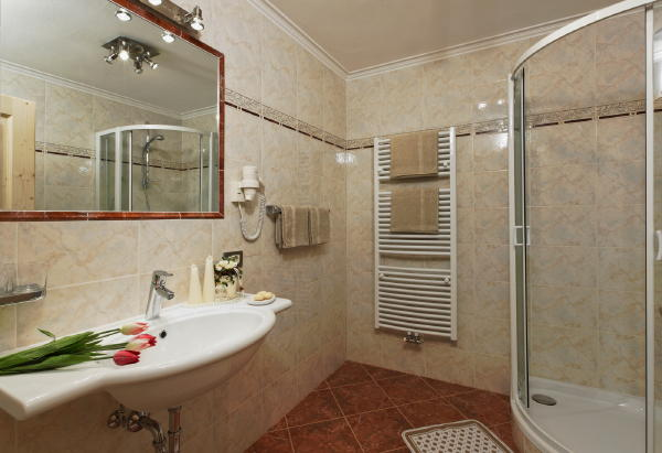 Foto del bagno Alpin Apartments