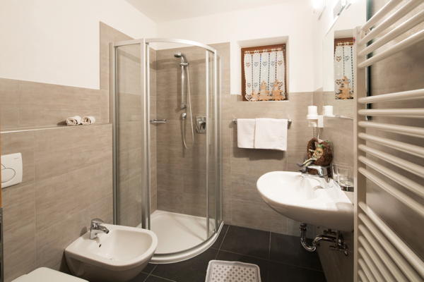 Foto del bagno Alpin Apartments