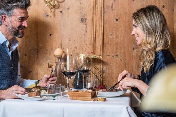 The restaurant Villabassa / Niederdorf Adler Suite & Stube