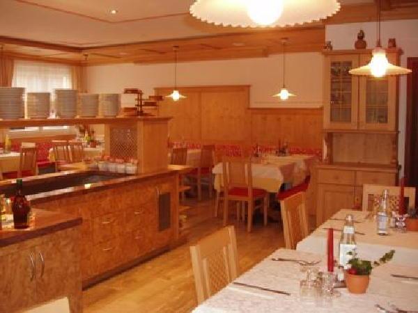 Il ristorante Villabassa Weiherbad