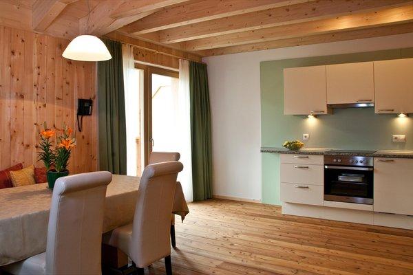 Foto della cucina Garni-Appartments Helvetia