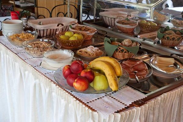Das Frühstück Garni-Appartments Helvetia