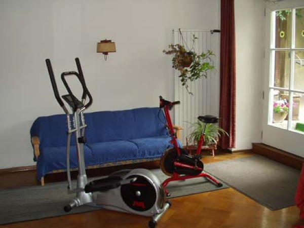Photo of the fitness area Apartments Goldener Stern