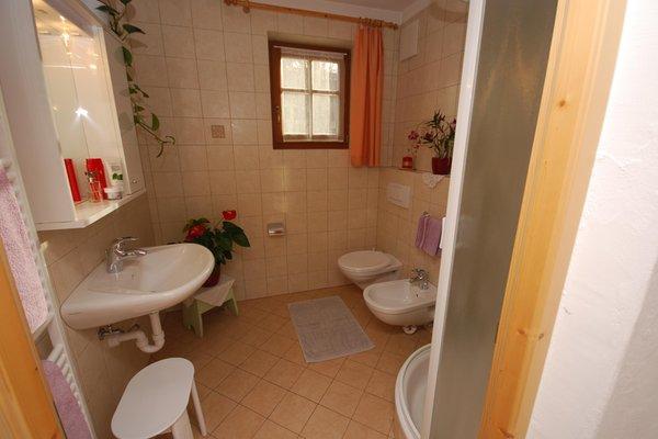 Foto del bagno Appartamenti in agriturismo Hoferhof