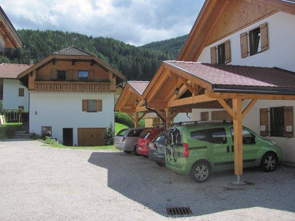 Foto esterno in estate Hoferhof